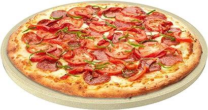 CastElegance Durable & Safe Thermarite Pizza Stone for Best Crispy Crust with Bonus..