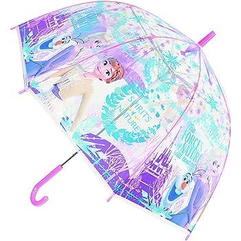 ディズニー プリンセス 長傘 子供用 ジャンプ キャラクター ビニール傘 アナと雪の女王2 55cm