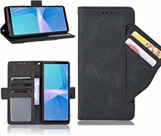 ESONG Hoesje voor iPhone 13 Pro Max Case,Flip Retro Leer Hoes,360° Protector Cover met Magnetisch,Kaartsleuf,Staande Funct...