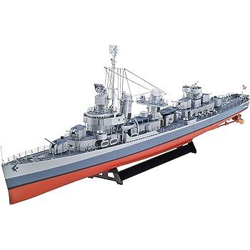 ドイツレベル 1/14 4フレッチャー級 駆逐艦 新金型 プラモデル