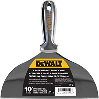 "DEWALT 10"" All Stainless Steel Joint Knife 