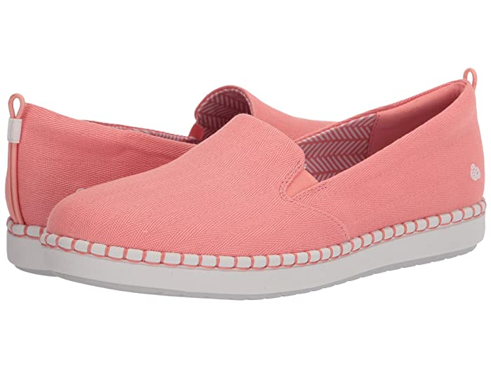 Clarks  Step Glow Slip (Coral Canvas 2) Womens Slip on  Shoes