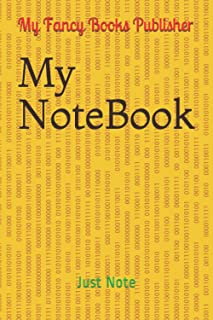 My NoteBook: Just Note