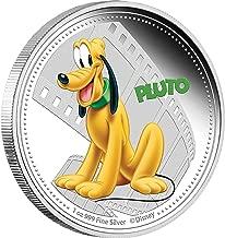 2014 Niué - Disney - Mickey & Friends - Pluto - 1oz - Silver Coin - $2 Uncirculated