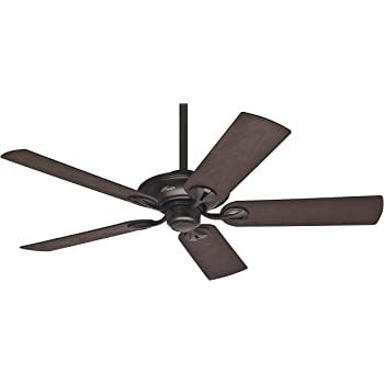 Hunter Fan Bayport Ventilador de techo, 58 W, Acero Inoxidable, 3 ...