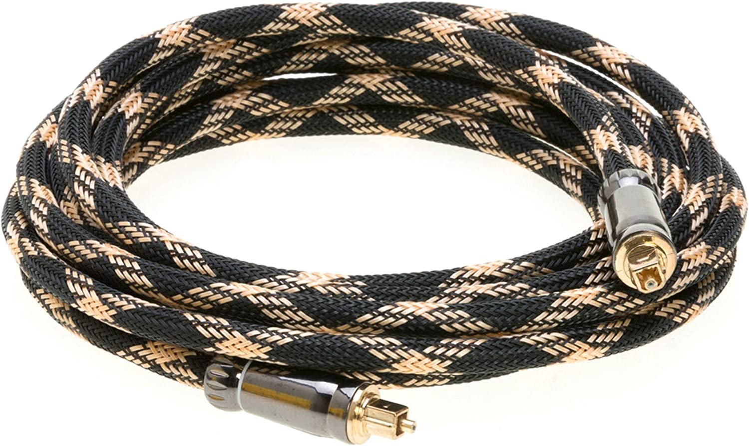 Cables Ranking TOP3 Direct Cheap mail order sales Online 1.5FT Toslink Optical Digital Fiber C Audio