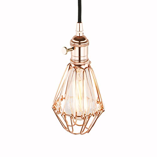 Copper Industrial Ceiling Lights Amazon Co Uk