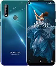 Điện thoại di động Android – 【6.35 Inch Punch-Hole Screen】 Unlocked Cell Phones OUKITEL C17 PRO Dual SIM 4G Smartphone 64GB ROM 4GB RAM Android 9.0 Triple Cameras 13MP + 5MP + 2MP 3900mAh Battery- Green