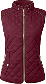 Womens Lightweight Quilted Zip Vest (S-3XL)
