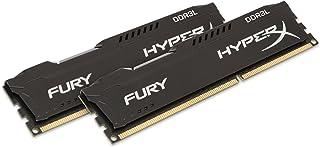 Kingston Technology HyperX FURY Black 16GB Kit (2 x 8GB)1600MHz DDR3L Desktop Memory HX316LC10FBK2/16