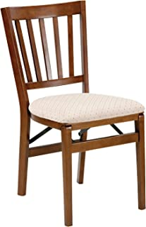 Stakmore School House Folding Chair Finish, Set of 2, Fruitwood