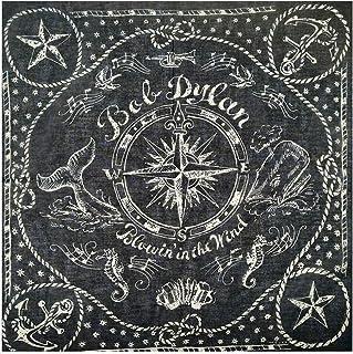 KUSTOM FACTORY Foulard Bandana Custom Bob Dylan Blowin' in the Wind 55 x 55 cm