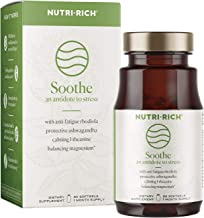 Soothe Adaptogens for Stress, Fatigue, Anxiety & Adrenal Exhaustion | L-theanine, Magnesium Malate, Rhodiola, Ashwagandha, Schisandra