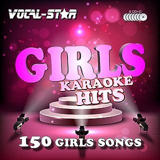 Vocal-Star Girls Hits Karaoke-Sammlung CDG Disc-Pack 8 Discs