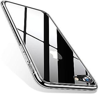 7888649cc8 TORRAS iPhone8 ケース iPhone7ケース ガラス背面+TPUバンパー ハイブリッド 黄変防止 薄型 四隅
