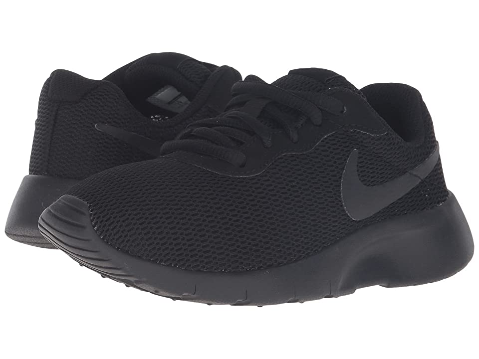 Nike Kids Tanjun (Little Kid) (Black/Black) Boys Shoes