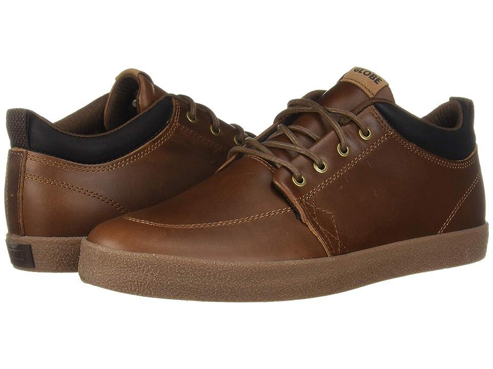 Globe GS Chukka (Brown Leather/Crepe) Men