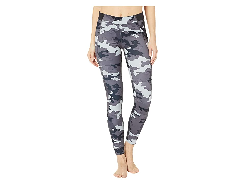 Champion Gym Issuetm Tights w/ Side Pocket Print (Leaf Camo Neutral) Women