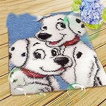 Borduurwerk Knooptapijt Kits for volwassenen Beginners DIY Knooptapijt Kits Cushion klink Vasthaken Rug Kits Cushion Embro...
