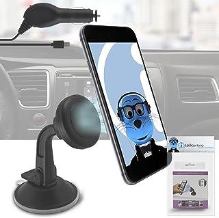 Magnética salpicadero de coche soporte parabrisas Cradle caso Compatible con Micro USB cargador de coche para Amazon Fire Phone