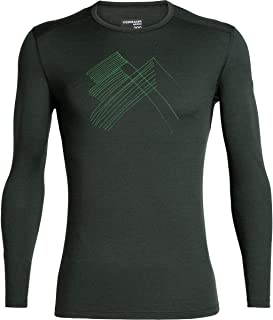 [アイスブレーカー] メンズ Tシャツ 200 Oasis LS Snap Head Crewe - Men's [並行輸入品]