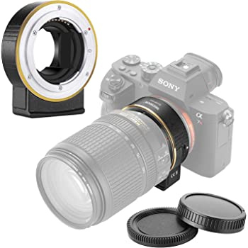 Gadget Place Nikon Lens Adapter for Sony a9 A9 Alpha 9