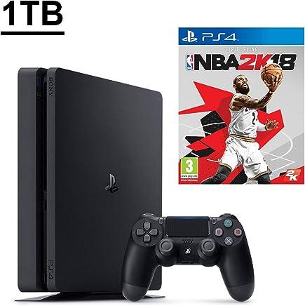 SONY PS4 SLİM 1TB OYUN KONSOLU + PS4 NBA 18 - NBA 2K18