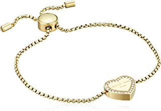 Michael Kors Logo Gold-Tone Slider Bangle Bracelet