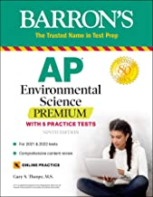 Download Book AP Environmental Science Premium: With 5 Practice Tests (Barron's Test Prep) PDF