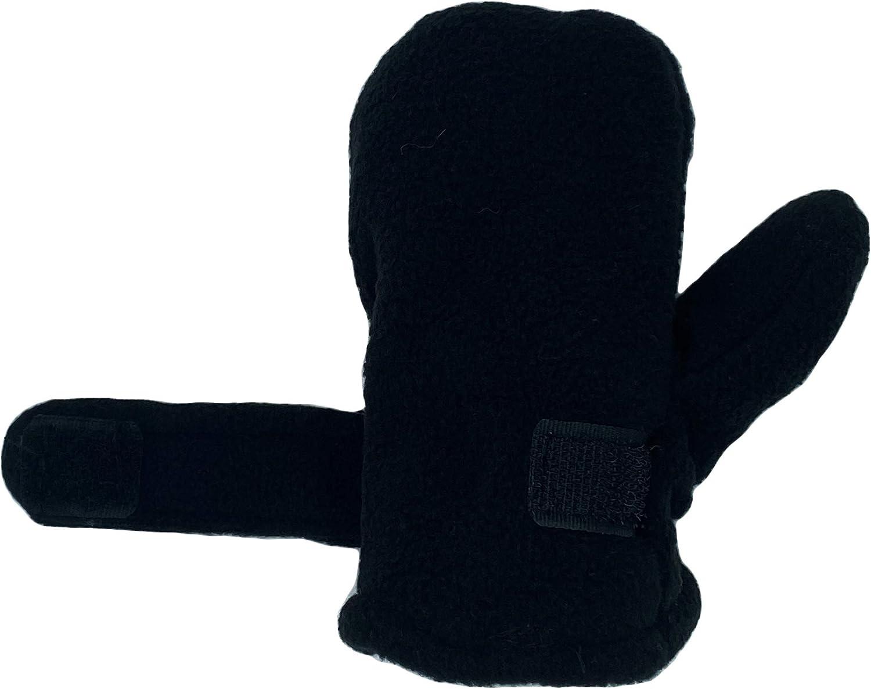 Baby Toddler Mittens Boys Girls Winter Outdoor Gloves Kids Easy-On Fleece Warm Mitterns