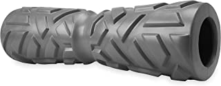 Gaiam Restore Foam Roller - Concave Firm Density Textured Muscle Massage Roller for Back & Shoulders