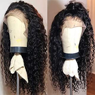 Fureya Hair Wigs for Black Women Natural Color Synthetic Lace Front Wigs with Baby Hair..
