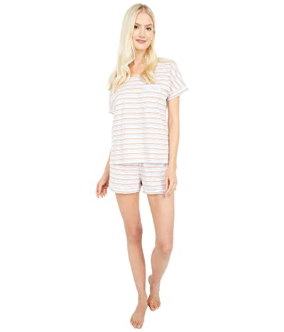 PACT Organic Cotton Sleep Set (Arctic Stripe) Women