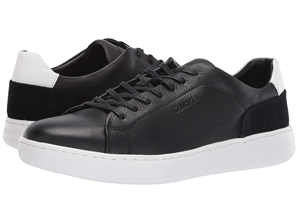 Calvin Klein Fuego (Black Soft Tumbled/Nappa Calf/Calf Suede) Men