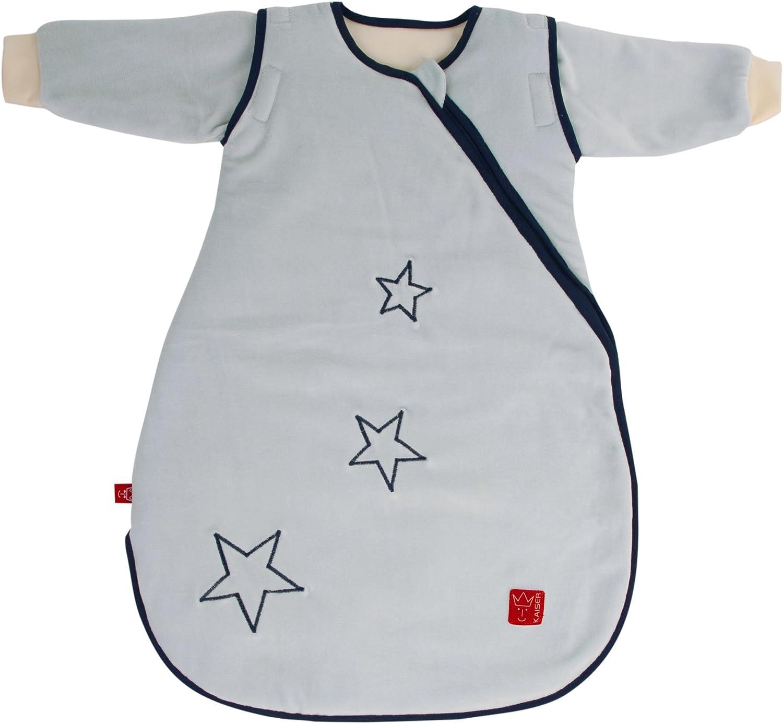 Kaiser 65070229 Schlafsack STAR sidezip, Ganzjahresschlafsack, Arme abtrennbar, abtrennbar, abtrennbar, 90 cm, hellblau B00GYW8AXW 888482