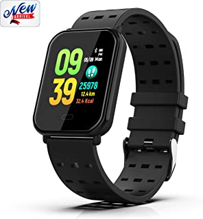 Fitness Tracker, Smart Watch Activity Tracker Bracelet with Heart Rate Monitor, Sleep Monitor,