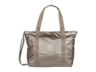 Kipling Asseni Tote Bag (Metallic Glow) Handbags