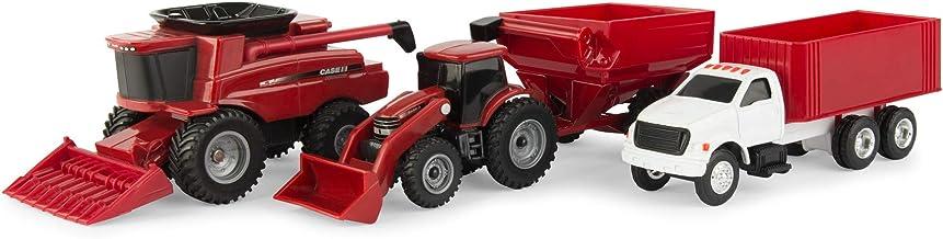ERTL Case IH Harvest Farm Toy Set (1:64 Scale)