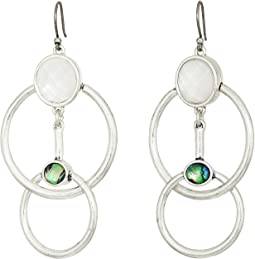 Lucky Brand Circle Drop Earrings