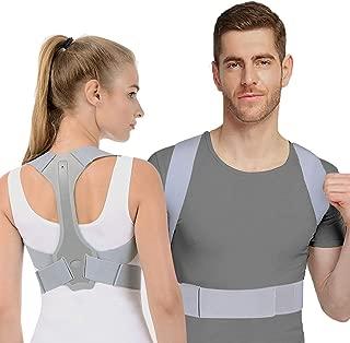 Posture Corrector for Women & Men FDA Approved, Adjustable Posture Brace Straightener, Comfortable Back Brace Providing Pain Relief from Neck, Back and Shoulder (S)