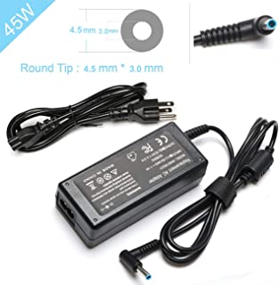 45W AC Adapter 741727-001 Charger for HP 15 14 11 14-BS153OD 14-AM052NR 14-DF0013CL 15-CX0058WM 15-DB0015DX 15-BA051WM 15-AF131DX 15-BA009DX 15-F271WM 15-F272WM 15-F387WM Notebook Power Supply Cord