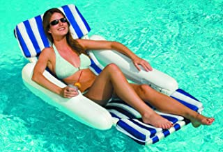 SunChaser Padded Floating Luxury Chair Pool Lounger