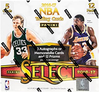 2016/17 Panini Select NBA Basketball HOBBY box (12 pk)