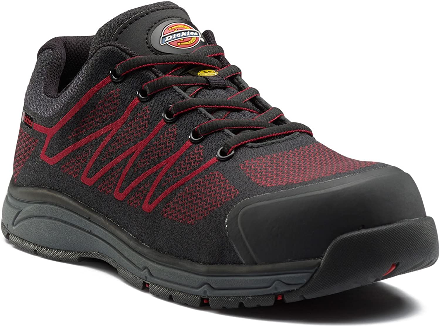 Dickies Mens Liberty Composite Toe Cap Slip Resistant Safety shoes