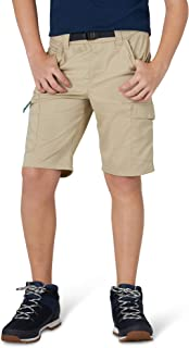 Wrangler Boys Premium Stretch Outdoor Performance Shorts (Khaki Heather)