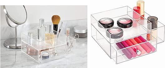 Bosphorus Cosmetic Organizer Drawer, Clear, L23 x W18 x H10 cm, 39360ES