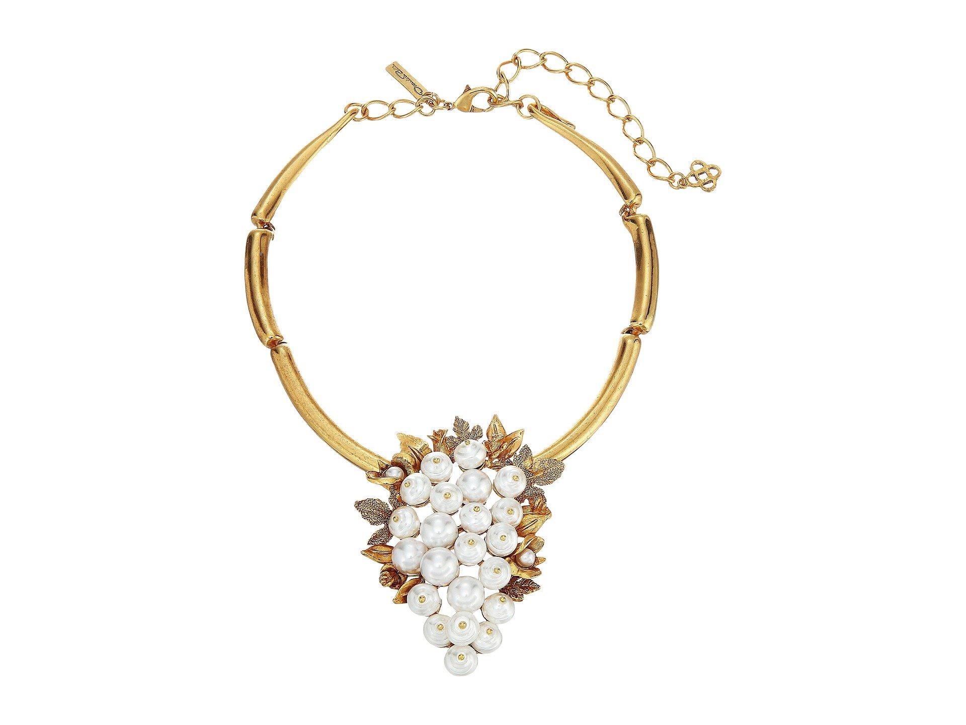 Pendientes para Mujer Oscar de la Renta Baroque Pearl Necklace  + Oscar de la Renta en VeoyCompro.net
