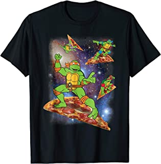 Teenage Mutant Ninja Turtles Cosmic Pizza Surfing T-Shirt
