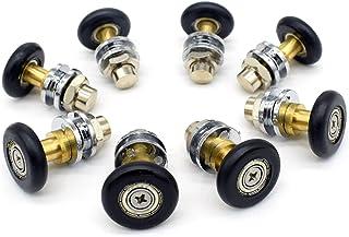 comprar comparacion Rodamientos para mampara de ducha, 8 unidades, piezas de repuesto de 25mm de diámetro
