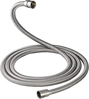 100 Inch Brass Fittings Extra Long Flexible Stainless Steel Replacement Handheld Shower Hose Brushed Nickel